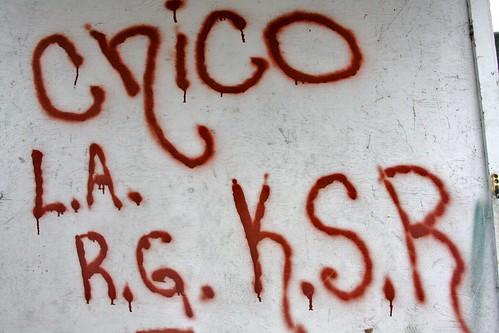 Shitty untalented graffiti