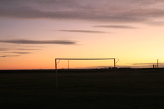 Goal Posts (gbw23) Tags: aberdeenshire northeast stcombs canon550d