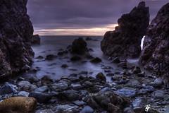 Rocky Outcrop ( Explore 453 23/12/11 ) (InShot Images) Tags: ocean longexposure sea water landscape scotland rocks portpatrick seascpae canon50d