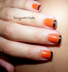 Fagulha - Colorama (Viic Bgmn) Tags: b orange black color cores nail laranja nails cor mão unhas unha feita esmaltes esmalte colorama francesinha bergamini decorada