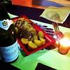 CHAPON au foie gras et aux figues #noel