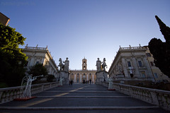 """Scalinata del Campidoglio, """"cordonata"""" • <a style=""""font-size:0.8em;"""" href=""""http://www.flickr.com/photos/89679026@N00/6575821157/"""" target=""""_blank"""">View on Flickr</a>"""