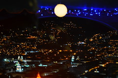 The moon over Quito (McArthur912) Tags: old city church marco vargas sowntown quiit suthamerica