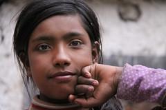 alchi girl (rongpuk) Tags: people woman india mountains women donne himalaya childs ladakh alchi