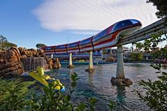 Tomorrowland Lagoon (Silver1SWA (Ryan Pastorino)) Tags: canon disneyland sigma disney 7d monorail sigma1020