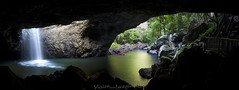 Natural Bridge - Springbrook National Park (Garry - www.visionandimagination.com) Tags: summer panorama nature water landscape waterfall rainforest arch australia brisbane naturalbridge qld naturewalk goldcoast goldcoasthinterland springbrooknationalpark glowworms qeensland mcphersonrange arachnocampaflava patriciacravo hera95