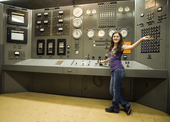 Naomi Takes Over Nuclear Reactor