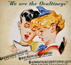 1950's Retro Ovaltineys Advert (colinfpickett) Tags: old advertising 1930s airport remember famous memories streetscene nostalgia advert nostalgic british 1960s iconic coaches airliner delivering