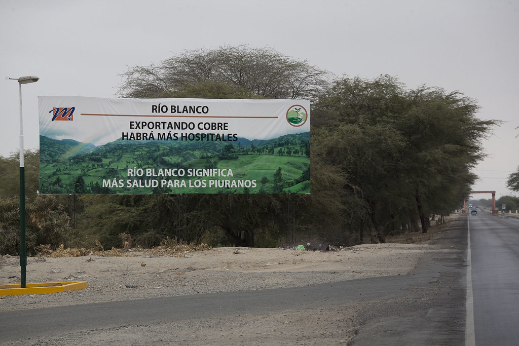 Propagande mine Rio Blanco