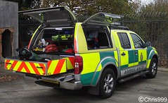 East of England Ambulance Service / Nissan Navara / HART / Rapid Response Vehicle / HX59 EJF (Chris' Transport Pics) Tags: life county uk blue light england urban rescue film speed training hospital fire lights search team bars pix fuji nissan exercise threatening united fine 911 blues samsung kingdom ambulance east medical health national nhs finepix area trust vehicle and hart fujifilm service hd saving emergency medic paramedic savers 112 hazardous essex rapid siren response 999 twos strobes navara lightbars rrv rotators servcie vluu pl81 pl90 sl630 leds s2750 hx59ejf