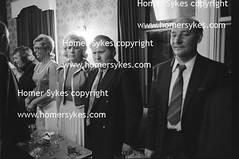 BYKER and ST PETER WORKING MENS CLUB NEWCASTLE UPON TYNE 1970's WORKING CLASS BRITAIN (Homer Sykes) Tags: evening entertainment 70s 1970s newcastleupontyne workingclass standingup tyneandwear northernengland godsavethequeen workingmensclub britishsociety archivestock bykerstpeters