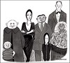 Happy 100th Birthday to my favorite ghoul... CHARLES ADDAMS!!