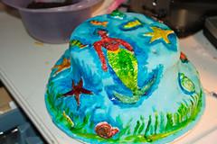 Lourdie 6th Birthday Party December 30, 2011 11 (stevendepolo) Tags: birthday party cake mermaid fondant nbirthday lourdie graandrapids