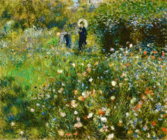 Pierre Auguste Renoir - Woman with Parasol in a Garden, 1873 at Thyssen-Bornemisza Museum Madrid Spain (mbell1975) Tags: madrid woman art museum garden painting landscape spain gallery museu with pierre muse musee m parasol impressionism museo thyssen impression impressionist muzeum auguste renoir mze 1873 thyssenbornemisza bornemisza museumuseum