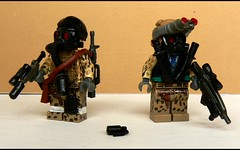 [Double Trouble] ([Headhunter]) Tags: ass mod lego mask kick apocalypse mother gas minifig custom grenade mac10 minifigure apoc tactical fuckers ac8 xm8 brickarms