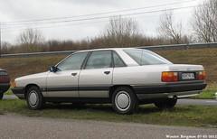 Audi 100 (XBXG) Tags: auto old classic netherlands car vintage germany deutschland automobile nederland voiture german 100 audi paysbas deutsch almere ancienne allemande