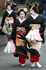 上七軒芸舞妓始業式 (Teruhide Tomori) Tags: japan lady kyoto traditional maiko geiko 京都 日本 kimono 芸妓 舞妓 kamishichiken 花街 上七軒 kagai