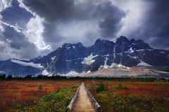 Gateway To The Ramparts, Jasper National Park (kevin mcneal) Tags: autumn fall blog jaspernationalpark tonquinvalley theramparts kevinmcneal