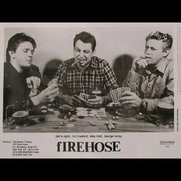 fIREHOSE to Reunite #fIREHOSE #firehosereunion #mikewatt #georgehurley #edcrawford #COACHELLA #sanpedro #true