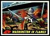 "Mars Attacks #5 ""Washington in Flames"" (cigcardpix) Tags: mars vintage advertising comic graphic ephemera fantasy horror sciencefiction attacks reprint tradecards gumcards"