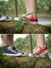(forestrys) Tags: couple converse chucks