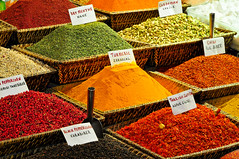 Spice market (Manel E.) Tags: estambul food spices colourartaward turquia artlegacy flickraward colors