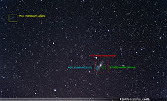 4 Galaxies (kevin-palmer) Tags: black night stars illinois space satellite andromeda galaxy astrophotography m33 m31 astronomy triangulum galaxies antioch widefield m32 m110 pentaxa50mmf17