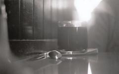 coffee! (Leit Rosewater) Tags: winter food white black art film cup coffee print photography 50mm nikon warm drink kodak tmax clear 400 50 nikonf3 kodaktmax400
