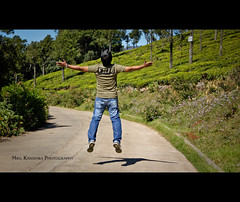 Yahoooooooooo ... (Kanishka **) Tags: trip canon fun ooty hillstation teaestate kanishka jumpshot