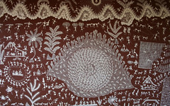 Tribal art (Nagarjun) Tags: india man art museum folkart folk indian tribes manav pradesh bhopal madhyapradesh madhya museumofman indiantribes sangrahalaya manavsangrahalaya
