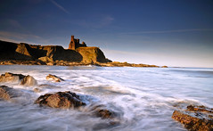 The (Seacliff) Rock (RF-Edin) Tags: longexposure scotland day seacliff clear eastlothian leefiltes