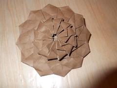 DSCF0095 (ЗЗ) Tags: art paper geometry twist tessellation tessellations tesselation paperfolding papiroflexia fujimoto chrispalmer octagons dodecagon flowertower shadowfold