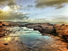 iPhoneography (-hedgey-) Tags: sunset seascape clouds reflections rocks iphone rockpools terrigal iphone4 mygearandme mygearandmepremium mygearandmebronze mygearandmesilver mygearandmegold mygearandmeplatinum mygearandmediamond