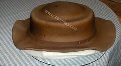 Ponque decorado con modelo de Sombrero (PaulitasArteyAzucar) Tags: tortas paulitas ponques