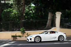 Empire Of The Rising Sun (Raphaël Belly Photography) Tags: white paris car de french photography eos hotel riviera photographie casino montecarlo monaco belly exotic 7d passion lf blanche raphael bianco blanc rb spotting lfa lexus supercars raphaël principality a lf4 worldcars
