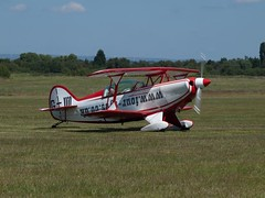 G-IIII  Aerotek Pitts S2B Special (wheelsnwings2007/Mike) Tags: city fly airport day open july special pitts in 2011 s2b giiii aerotek bartonmanchester