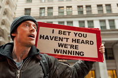 I bet you haven't heard we're winning (Brandon Doran) Tags: sanfrancisco california ca rain protest financialdistrict rainy californiastreet winning sfist 99percent fidi ows osf occupy tumblr occupysf occupywallstreetwest owswest 20120120dsc8314edit