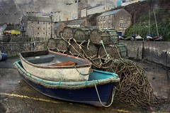 Winter storage (mojacobs) Tags: wales port boats harbour cymru pembrokeshire tenby sirbenfro