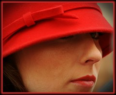 "The ""Woman in Red"" (NaturaLite's ""SnapDecisions"") Tags: arizona nikon tucson dillinger hotelcongress ipad dillingerdays d700 afsvrzoomnikkor70300mmf4556gifed photogene panoramafotogrfico flickrsportal"