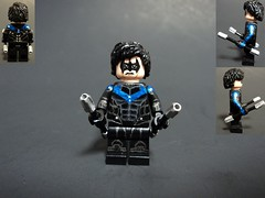 Nightwing (billbobful) Tags: city robin lego dick grayson richard batman asylum nightwing arkham