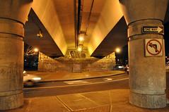 (Laser Burners) Tags: nyc newyorkcity brooklyn graffiti oneway bqe tko noleftturn bth citynoise gufe