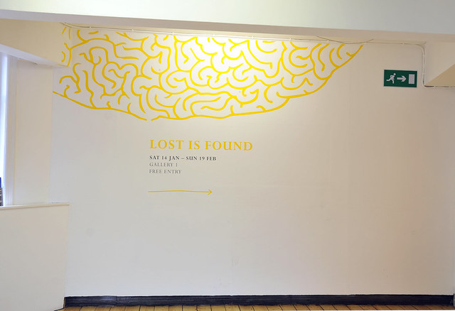 Lost is Found Installation