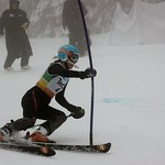 Teck Enquist Slalom, January 2012, Mt. Seymour - Mikayla Martin (WMSC) PHOTO CREDIT: Steve Fleckenstein