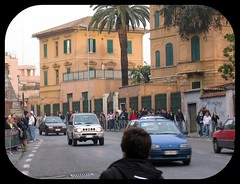 Outside  the Vatican (Graham 1947) Tags: people italy rome cars roads vaticancity