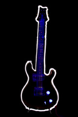 electric guitar (pukunui81) Tags: longexposure canon guitar prs electricguitar mccarty lightdrawing paulreedsmith 550d t2i canoneos550d
