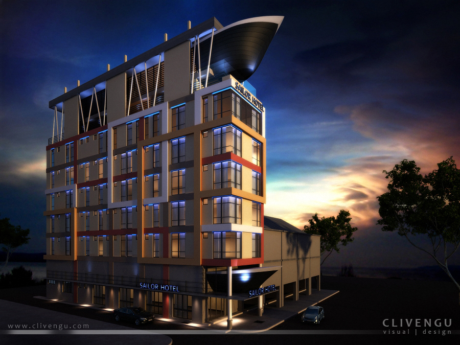 sailor hotel facade 03