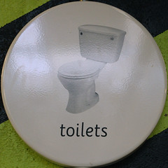toilets (Leo Reynolds) Tags: sign canon eos 7d squaredcircle 56mm f67 iso1000 sqlondon signinformation hpexif 0017sec xleol30x sqset072 xxx2012xxx