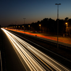 Travelling Without Moving (Edwin van Nuil Photography) Tags: longexposure night highway spacecowboy geocity exif:iso_speed=100 exif:focal_length=24mm exif:make=sony camera:make=sony geostate geocountrys exif:aperture=11 nex7 sonynex7 zeisssonnarte24mmf18za camera:model=nex7 exif:model=nex7 exif:lens=e24mmf18za