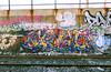 (Into Space!) Tags: ny newyork colo wall train graffiti photo bronx tracks graff piece dart bombing throw inkhead nezo throwie intospace intospaces