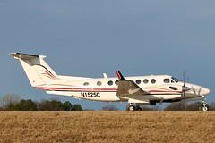 N1525C_2045 (Stephen Wilcox - Jetwashphotos.com) Tags: king air super 350 2009 inc beech companies mem memphisairport cretex n1525c fl88